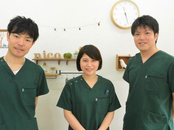 浦安の鍼灸整体院+nicoスタッフ