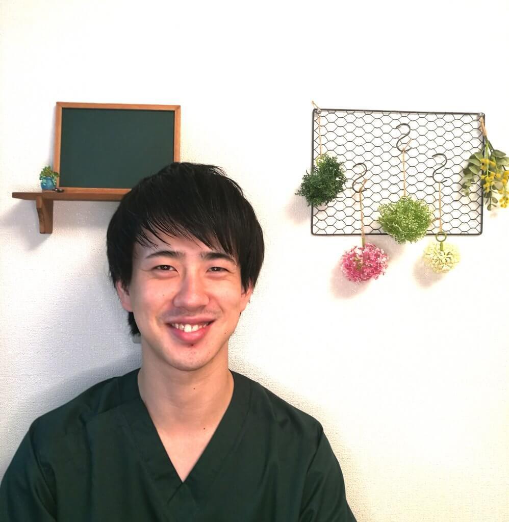 浦安の鍼灸整体院+nico原口樹先生