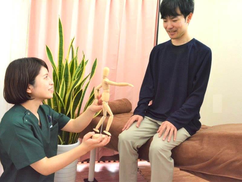 浦安の鍼灸整体院+nicoのアフターカウンセリング